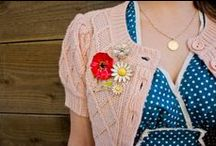 Brooch the Subject / Vintage and handmade pins / by Va-Voom Vintage