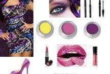 Mi colección de moda y maquillaje / Ideas de como combinar maquillaje, peinados, zapatos y ropa