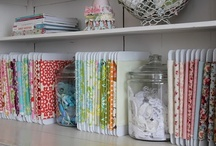 Cre8ive Studio Storage & Display / Storage, organizing and display inspiration for art and craft supplies. Craft Room or Art Studio storage solutions. #CraftRoom #CraftStorage #ArtStudio #StudioStorage / by Cre8ive Crafter