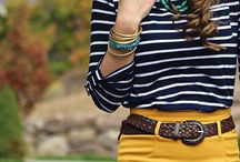 S t r i p e s / Stripes are always a chic look, when done well!