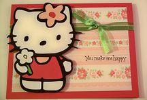 Hello Kitty / Tarjetas