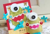 Little Monster Cards