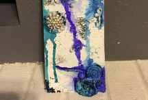 Altered Art / Altered art such as books, boxes, dominos, bottles  / by Michelle Trimble