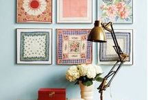 Easy Vintage Wall Decor / cheap and easy vintage wall decor that you can DIY, thrift or find at the flea