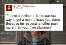 Yes / Feminism.