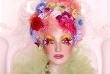 Flora / Floral hair and makeup