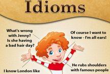 Idioms - expressões idiomáticas