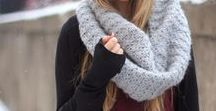 Fall Outfits / Fall boots & Scarves