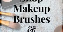 Makeup Brush Sets and Beauty Tools / Best Makeup Brushes, makeup brush dupes. Gift ideas for Christmas and birthdays. Girlfriend gifts.