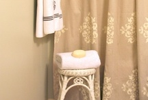 Shower curtains / by Cindy Stout