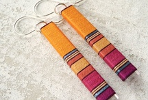 Peruvian Thread Earrings / by Orecchini Fai da Te