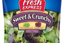 Fresh Express / Fresh Salad mix.. Best place to start a memorable salad