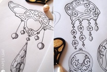 Earring Sketches