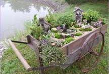 Completed Fairy Gardens / by WholesaleFairyGardens.com