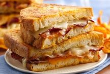 Food // Grilled Cheese / by Kristy Lyn