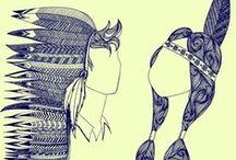 Patterns, doodles, art