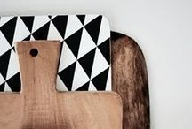 From the cutting board / cutting boards, chopping boards, bread or cheese platters...
