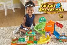 Go! Go! Smart Animals / Create and explore a world that goes wild with learning! VTech's Go! Go! Smart Animals™ collection stimulates the imagination and encourages creativity with colorful, interactive playsets.