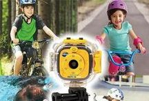 Kidizoom Action Cam / Ready for adventure, the Kidizoom Action Cam is durable, versatile and able to capture their memorable moments! This mountable camera designed just for kids is the perfect companion for little explorers on the go.