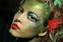 I LOVE FANTASY MAKEUP / Fantasy Makeup and looks