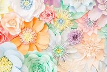 Pastel love / Sweet colors for home, fashion, food, garden and lifestyle.