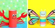 Kids Crafts & Recipes / Crafts & Fun recipes to make for or with your kids | Kid Crafts| Kid friendly recipes| Slime recipes| kid printables|  kid snacks| Kid Treat| Exploring and learning with kids|