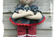 Dolls & Softies / by Cindy Mossor