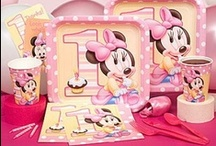 Minnie Mouse / Minnie Mouse 1st Birthday Party Theme