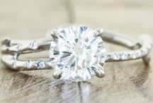 Wedding and engagement rings / by Erin Krushelniski