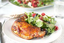 Vardagsmat med kyckling / Enkla recept och middagstips med kyckling och annan fågel. Kyckling är lätt att variera!