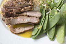 Vardagsmat med kött / Middagstips med helt kött så som fläskkotletter, lövbiff och annat kött som passar till vardags.