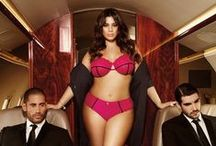Ashley Graham / Ashley's 'La Scala' and 'Essentials' Collections are now available at www.barenecessities.com.  / by bare necessities
