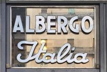 #SignsofItaly and #Italiainsegna on Instagram / Our selection of beautiful signs around Italy that we have found on Instagram.