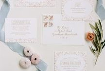 Invitations / You're cordially invited to a romantic affair! This board includes an inspired collection of wedding invitation styles, looks and ideas!
