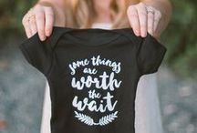 Pregnancy Announcement Ideas / Why not announcement your pregnancy with a bit of style?