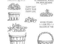 Stampin Up Basket of Wishes