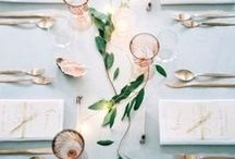 Modern Chic Minimalist / A collection of wedding ideas for the modern minimalist bride. Nothing says sophistication like simplicity.