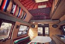 Campervan Dreams / Tiny house... on wheeeeels. Project inspiration