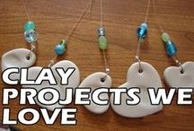 Clay Projects We Love! / DIY clay projects from around the web  / by Sculpey