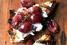 Tasty Snacks and Appetizers / Delicious snacks and appetizers made with Fresh living herbs
