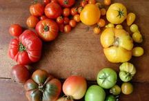 Beautiful Veggies & Fruits / Oh so beautiful vegetable and fruit photography.