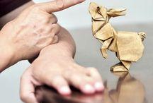 Origami / Des modèles pour faire de l'origami et des origamis déjà pliés pour pouvoir s'en inspirer ;)
