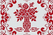 cross stitch:  max. 4 colors / by Marjolein Griffioen