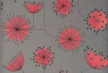 surface design :: florals :: stylized