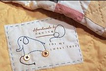 Finishing Touches / Binding tutorials and Quilt labels / by Lisa Edgett