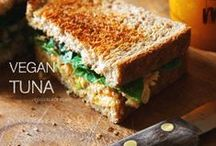 * Sandwiches & Wraps * / Vegan goodness all wrapped up. Great lunch ideas!