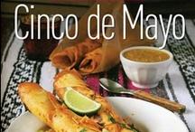 Cinco De Mayo / Cinco de Mayo recipes / Mexican Food favorites inspired by the Healthy Voyager