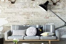 The Orchard: Industrial Chic: Shabby Chic Vintage / Industrial Decor inspiration, get the look in your home.