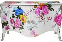 TREND 2013 :: bold flowers on solid / fashion surface design prints textiles