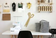 Domestic: Office / Home office inspiration for those who work from home or just like a little time to yourself.